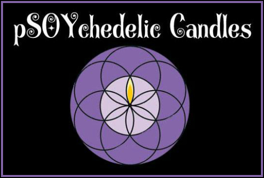 pSoychedelic Candles