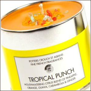 Potters Crouch Tropical Punch Candle Review from Sarah Lou Ltd.