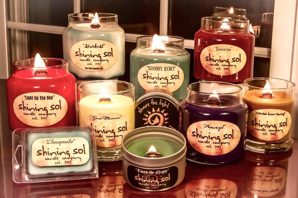 Shining Sol Candles
