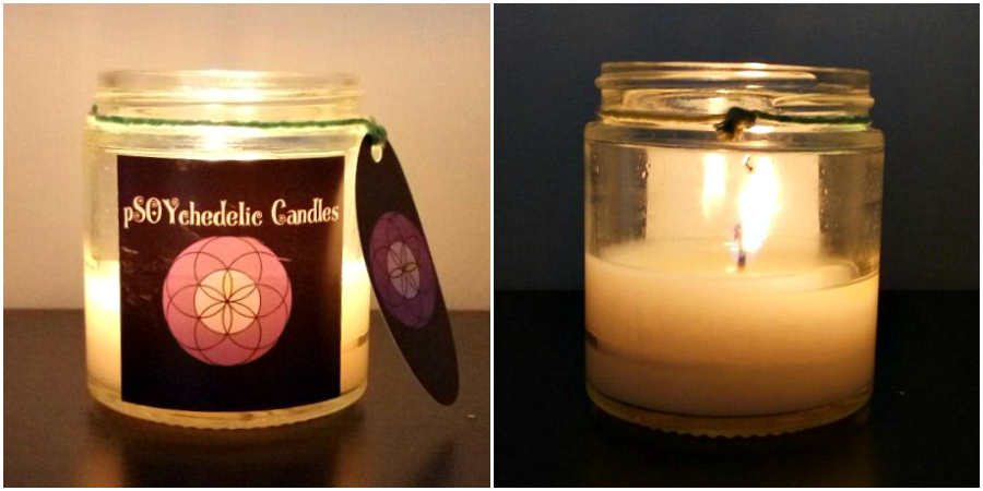 pSoychedelic Candles Snickerdoodle Candle Review