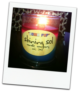 Shining Sol Bomb Pop Candle Review