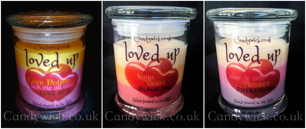 Valentine's Day Candles from Candywick