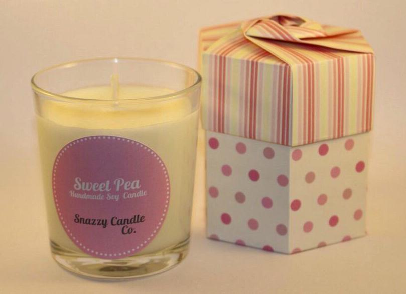 Sweetpea Candle