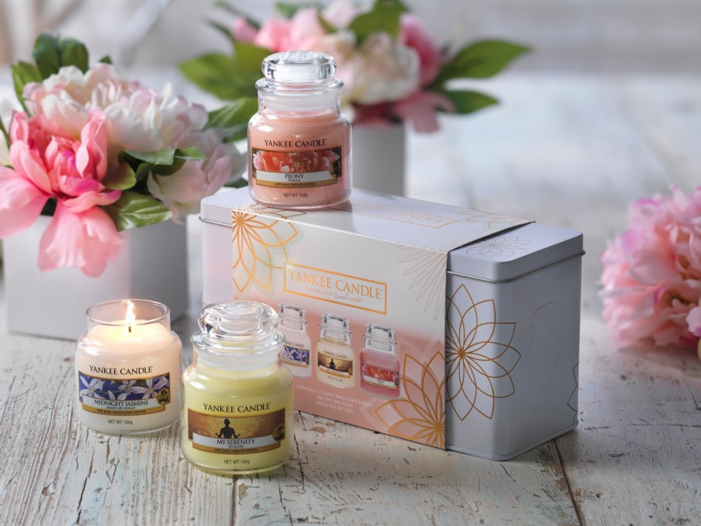 Yankee Candle My Serenity 3 Small Jar Tin Gift Set