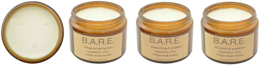B.A.R.E. Candles from Flamingo Candles 2