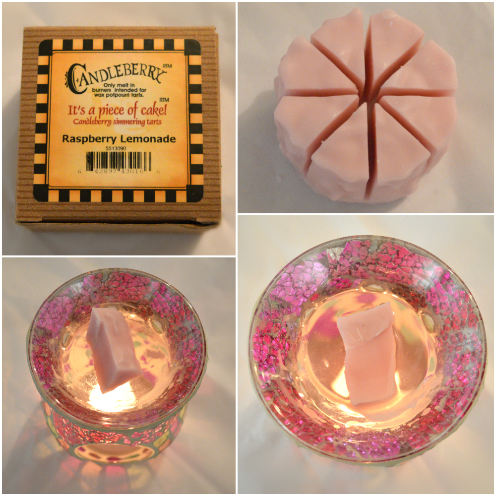 Candleberry Raspberry Lemonade Wax Tart Review