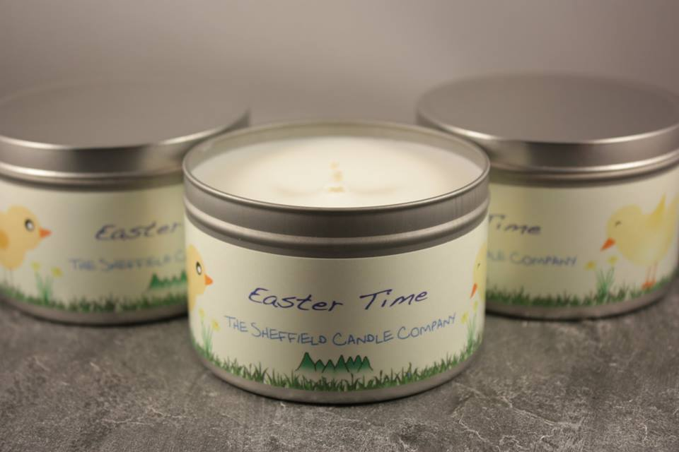 Easter Time Candle
