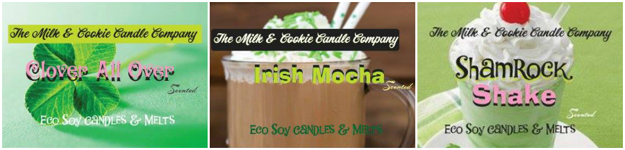 Milk & Cookie Candle Company Pot Of Gold Sampler Pack