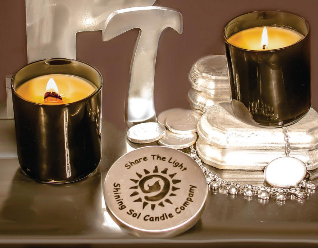 NEW Platinum Series from Shining Sol Candle Company