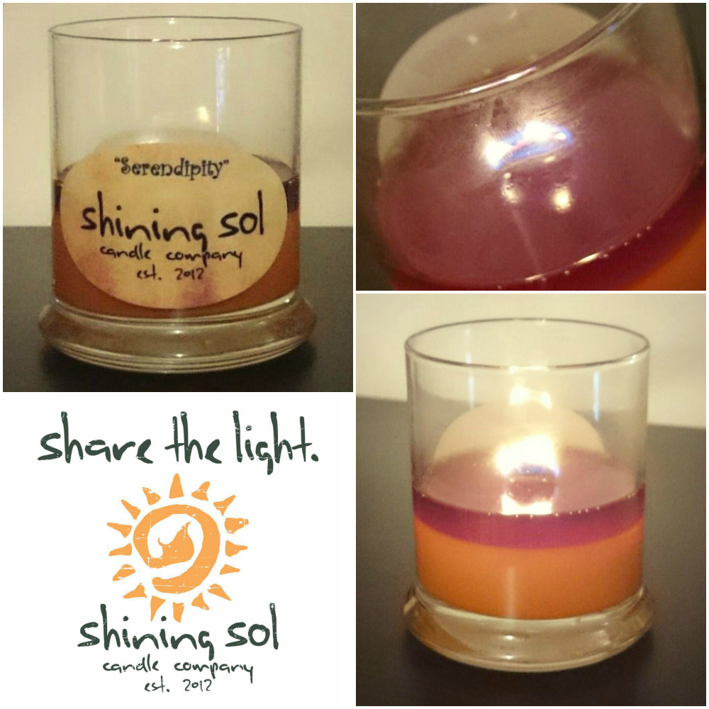 Shining Sol Serendipity Candle Review