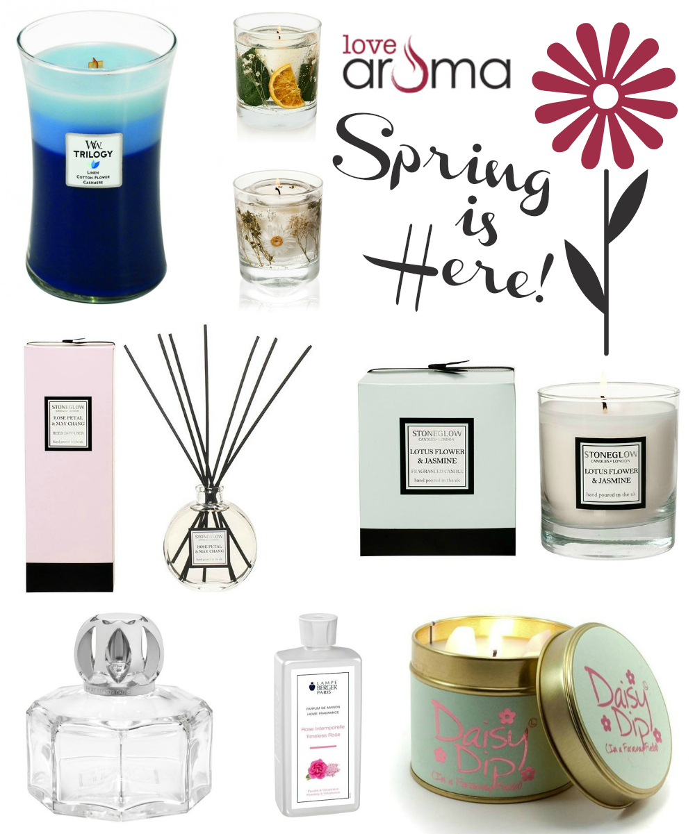 Spring Scents from Love Aroma