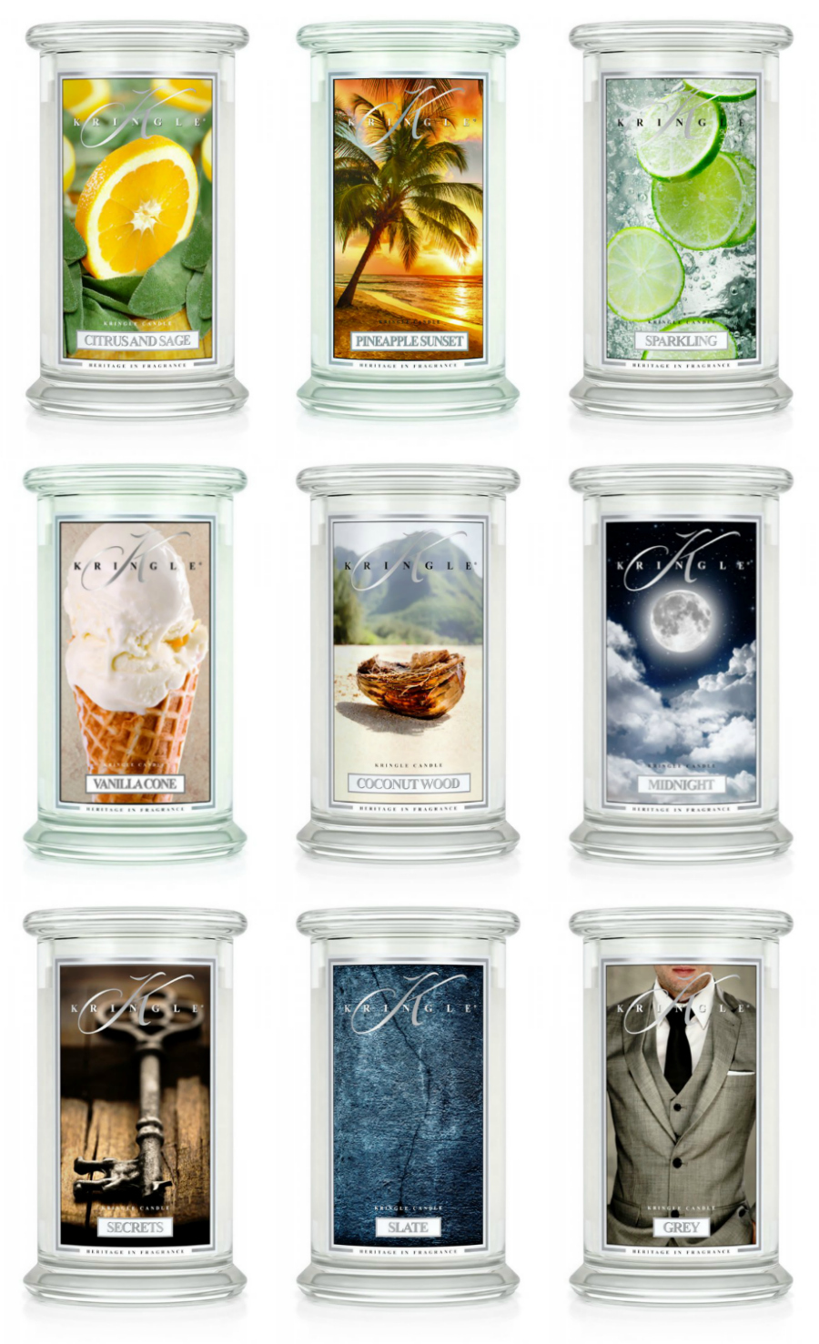 NEW Kringle Candle Fragrances at Love Aroma