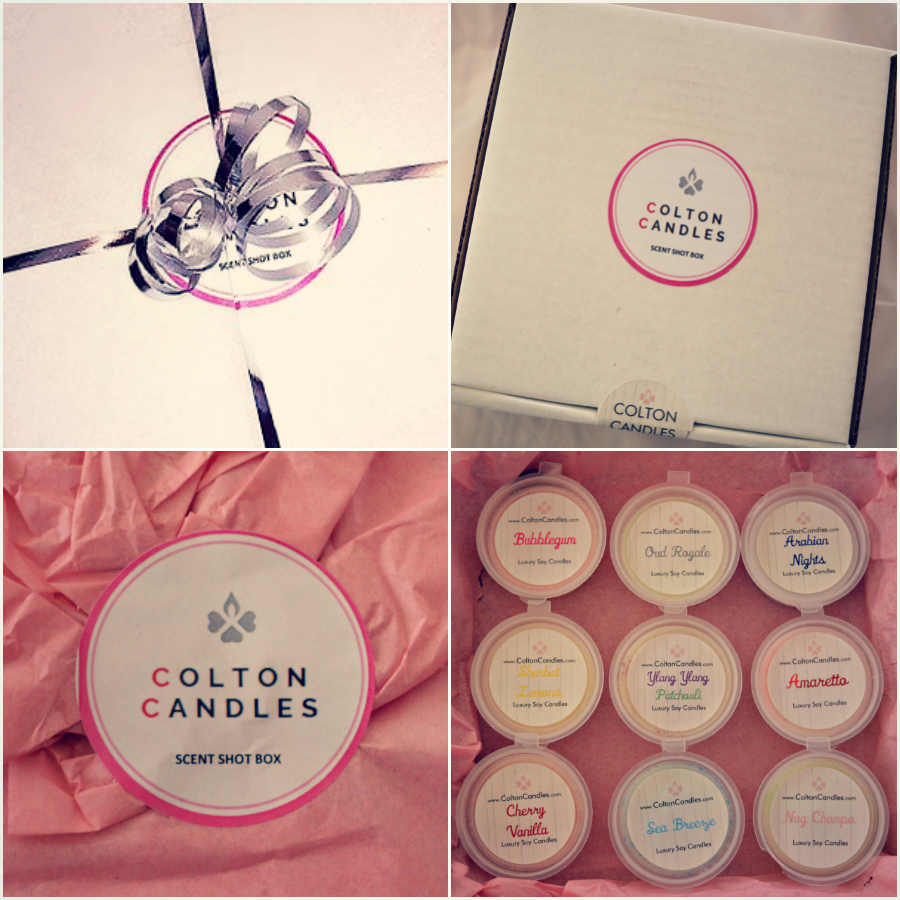 Colton Candles Scent Shot Box
