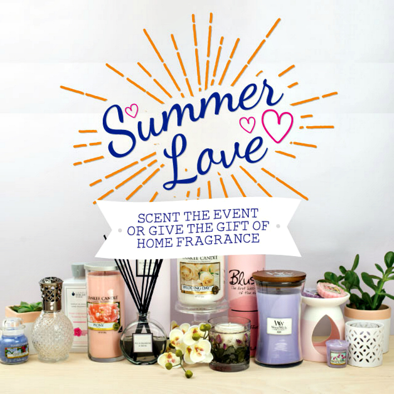 Summer Love - Wedding Gifts & Décor from Love Aroma