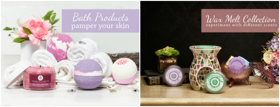 Imperial Candles Bath Products & Wax Melts