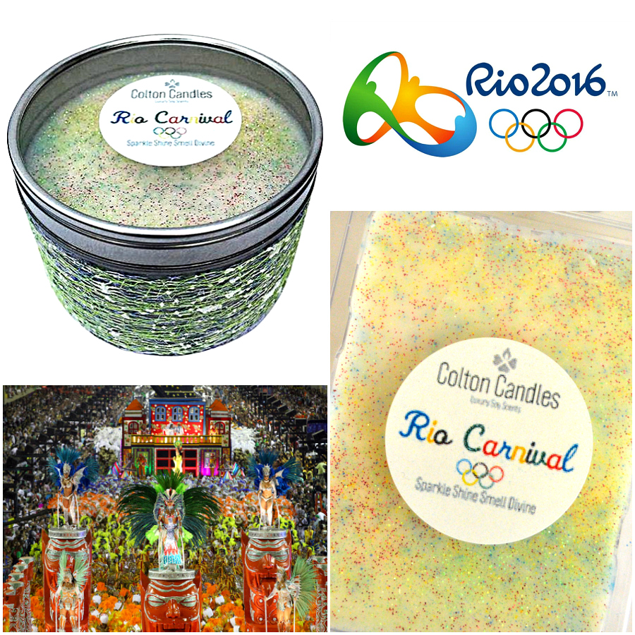 Colton Candles Limited Edition Rio Carnival Candles & Wax Melts