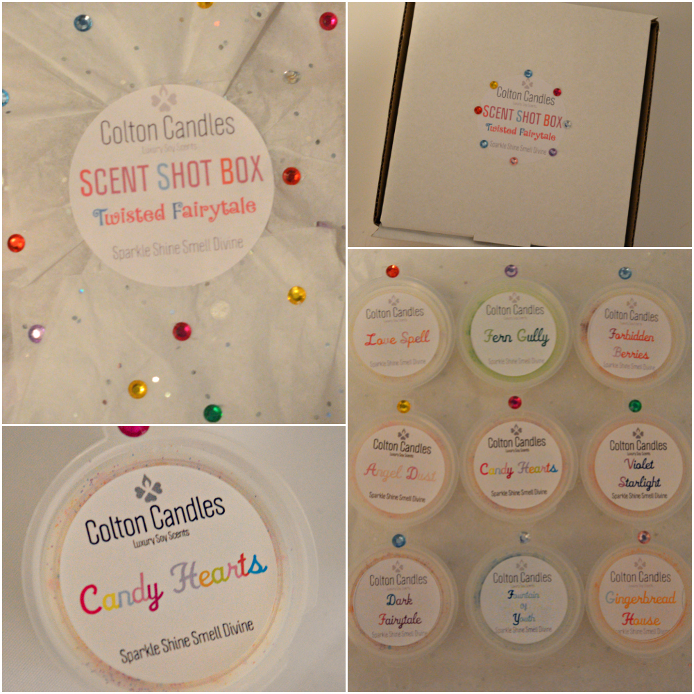 Colton Candles Twisted Fairytale Scent Shot Box Review