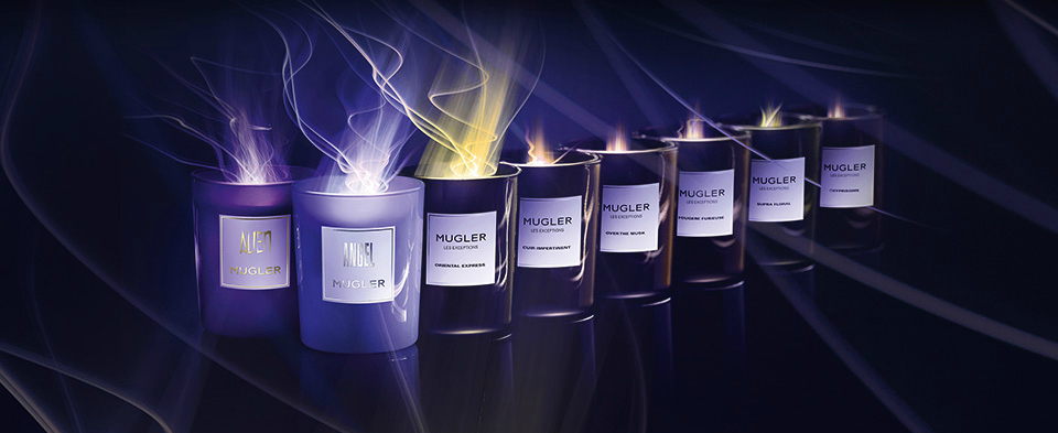 NEW Thierry Mugler Candles
