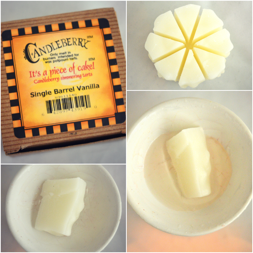 Candleberry Single Barrel Vanilla Simmering Wax Cake Tart Review