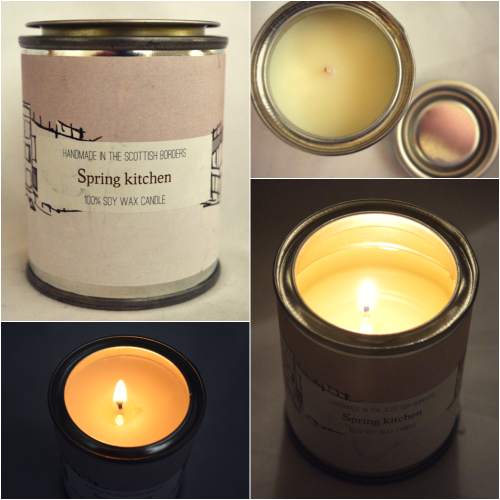 Esscentual Candles Spring Kitchen Candle Review