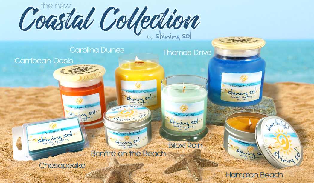 Shining Sol Candle Co. Coastal Collection
