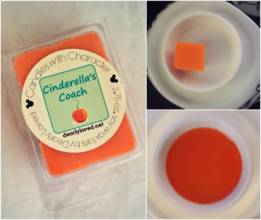candles-with-character-cinderellas-coach-wax-melts-review