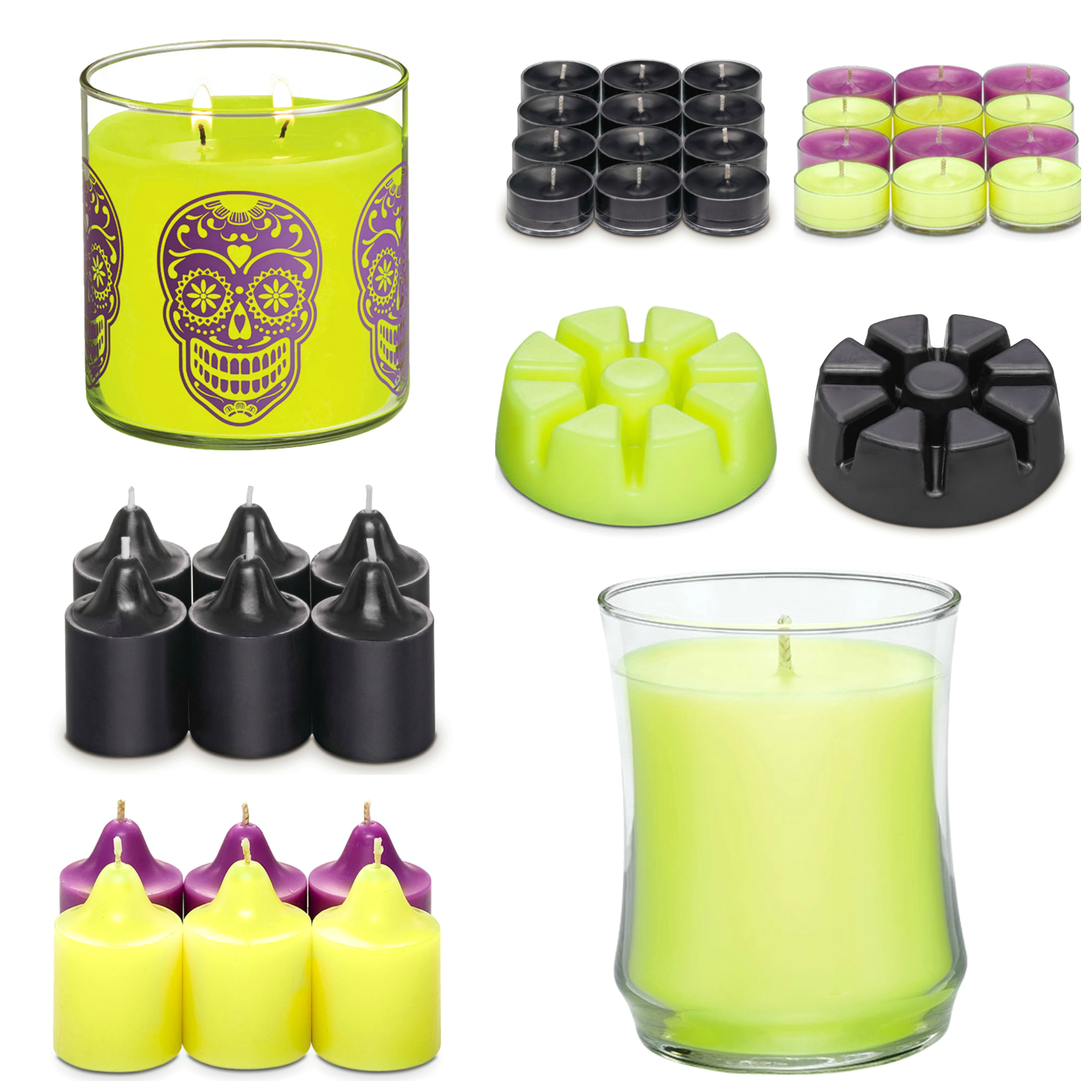 partylite halloween candles home fragrance