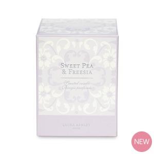 sweet pea and freesia