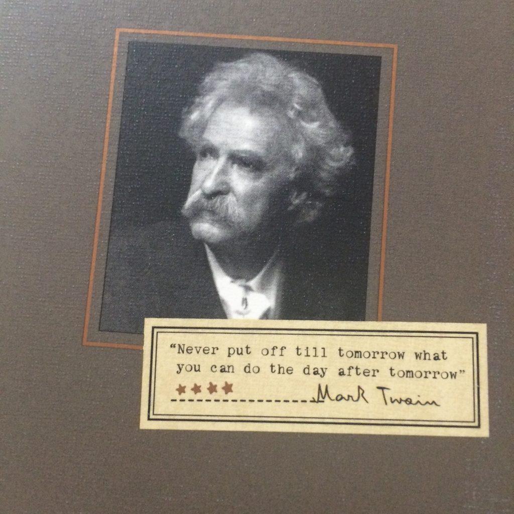 Paddywax Mark Twain Candle